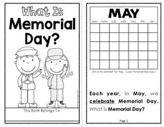 Memorial Day (A Holiday Book for Primary Students) by Andrea Knight Kindergarten Language Arts, Kindergarten Activities, What Is Memorial Day, Memorial Day Activities, 1st Grade Science, School Holidays, Worksheets For Kids, Vocabulary Words, Lessons For Kids