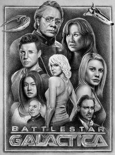 Battlestar Galactica - fantastic fan art!