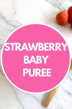 The simplest Strawberry Baby Puree. #strawberry #babypuree #babyfood #babyfoodideas #babyrecipe Strawberry Oatmeal Bars, Strawberry Baby, Strawberry Puree, Strawberry Recipes, Homemade Baby Puree Recipes, Baby Recipes, Pureed Food Recipes, Recipe For 6, Food Allergies