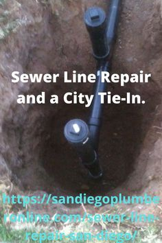Sewer Line Repair. Made a Connection to the City Main. Dug down about six and half feet. And installed a two-way cleanout material used was with ABS Plastic Piping. Connection was to Clay. Customer was having regular stoppages. Tree Roots where in the line. Metal Pipe, Iron Pipe, Sewer Line Repair, Toilet Installation, Pipe Repair, Free Quotes, Concrete Floors, New Construction, Connection