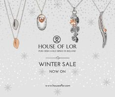 Winter Sale #sale #houseoflor #jewellery #jewelry #rosegold #silver Sale Sale, Winter Sale, Dog Tags, Dog Tag Necklace, Rose Gold, Pure Products, Jewellery, Silver, Stuff To Buy