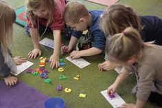 Small Groups: Letters, Letters, Letters!!