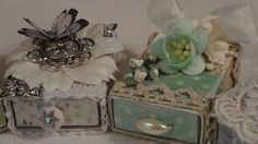 Altered Matchboxes ♥ Shabby Chic Style