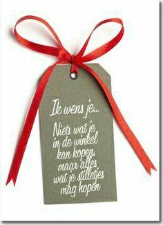 Ik wens je...