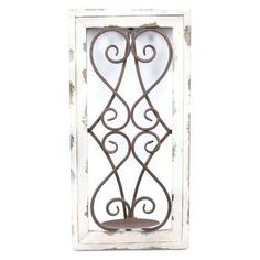for the corner Wood And Metal, Metal Walls, Candle Sconces, Wall Sconces, Frames On Wall, Wooden Frames, Entryway Wall, Wall Candle Holders, Home Accents