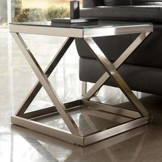"""Coylin Square End Table by Signature Design by Ashley Width (side to side) 22"""" W Height (bottom to top) 22"""" H Depth (front to back) 22"""" D"""