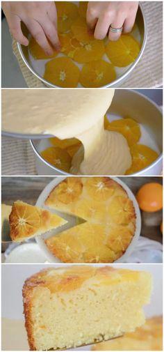 BOLO DE LARANJA COM IOGURTE #bolo #laranja #iogurte #receita #gastronomia #culinaria #comida #delicia #receitafacil