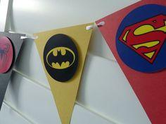 Resultado de imagen de decoracion superheroes