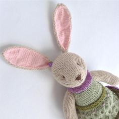 Knitted soft animals