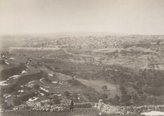 Ottoman Archives Reveals More Photos - Features - News - Arutz ShevaJerusalem's Old City and Temple Mount, photographed from the east. (Ottoman Imperial Archives, 1886)