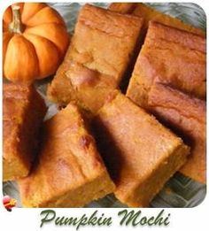 Easy Pumpkin Mac-Nut Crunch Cake recipe. Such a simple dessert recipe and using parchment paper makes for easy clean up.
