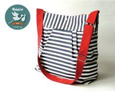 Diaper Messenger Bag by @IKABAGS Handmade bags Purses Handmade bags Purses Handmade bags Purses @BabyList Baby Registry Baby Registry Baby Registry