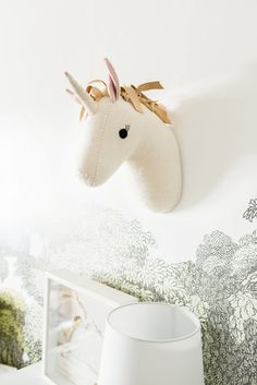 Skylar's room - from Target - Pillow Fort Kids Decor Collection Unicorn Rooms, Unicorn Decor, Little Girl Rooms, Kids Bedroom, Kids Rooms, Boy Rooms, Lego Bedroom, Room Kids, Kid Spaces