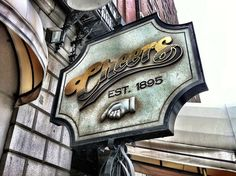 The Famous Cheers Sign, Boston