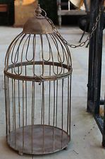 X Large Vintage  Style  Iron   Bird Cage / Wishing Well     BRAND NEW
