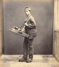 Bread seller. Ca. 1870.  Victorian occupation