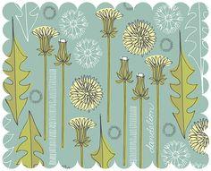 Dandelions by www.lisaorgler.com