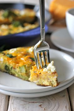 Clean-Out-The-Fridge Vegetable Frittata