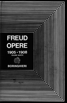 Enzo Mari, design for Freud, Opere, 1905-1908, Boringhieri, Torino, 1966