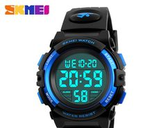 Cheapest SKMEI Brand Children Watches LED Digital Multifunctional  Waterproof Wristwatches Outdoor Sports Watches for Kids Boy. Watch Brands Men s WatchesCool ... 2ca4b4a80ea