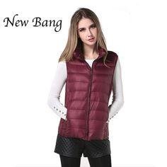 Women/'s Sleeveless Winter Diamond Gilet Warm Fashion Waistcoat Vest Coat Jacket