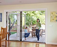 These big, gorgeous doors open up your whole space! More exterior door ideas: http://www.bhg.com/home-improvement/door/exterior/exterior-door-ideas/?socsrc=bhgpin063014extrawideopening&page=7
