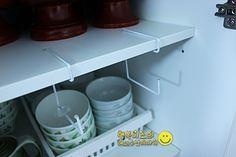 (세탁소옷걸이 리폼) 자투리 공간 활용하는 커피 수납 법 : 네이버 블로그