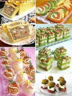 Appetizer ideas for Christmas and New Year 2015 ~ Culorile din farfurie