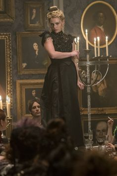 Billie Piper as Lily Frankenstein Penny Dreadful (2014-2016) Season 3 Costumes by Gabriella Pescucci