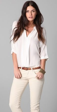 Joie Marru Top - this top is so freakin versatile! Can wear with virtually any bottom - jeans, lacquered jeans, leather skirt, etc.