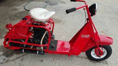1952 Cushman Cast Iron Eagle CUSHMAN