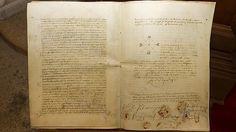 Facsímil del testamento de Fernando el Católico, cuyo original atesora la Casa de Alba