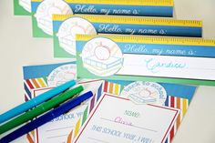 Back to School printable pack!!  Start the year off with a BANG!