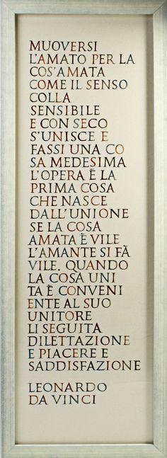 L'Opera - Brush writing on calico
