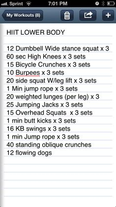 7/9/13: lower body HIIT, 411 calories burned in 60 minutes.