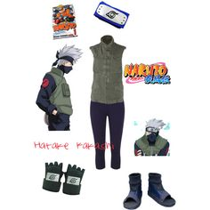 Hatake Kakashi by rogers-dara on Polyvore featuring polyvore, fashion, style and R13