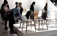 Sharky @ Fiera del Mobile di Milano - Kristalia #chair #design #isaloni