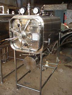 Horizontal Rectangular High-Pressure Steam Sterilizer