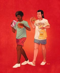 Pulp Fiction Famous Buddies – Les duos célèbres de la Pop Culture