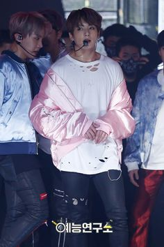 Jungkook❤ BTS At Music Core~ (170225) #BTS #방탄소년단