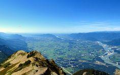 O publicitário Paulo Costa de Oliveira fez fotos do no topo do Mount Cheam, no Canadá, com uma Canon T2i, em 2012. 'A vista faz qualquer um ... Canada, Exterior, Fez, Costa, Mountains, Water, Travel, Outdoor, Brazil Travel