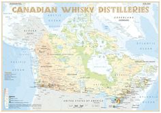 Whisky Distilleries Canada
