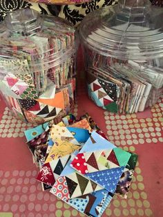 Goosey quilt blocks, by Charisma Horton, shared on FB.