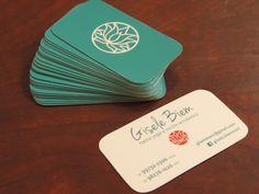 Raquel Biem - Cartão de visitas de Gisele Biem