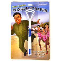Dear Leader Tongue Scraper (bestseller)