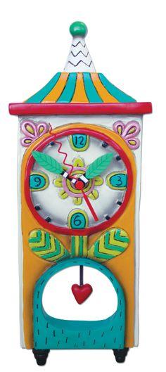 Amazon.com - Allen Designs Blossom Pendulum Clock