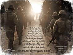 God Goes Before You - American Heroes Art Gallery Army Quotes, Military Quotes, Military Mom, Army Mom, Soldiers Prayer, Marine Mom, Real Hero, American Soldiers, God Bless America