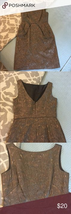 Banana Republic metallic dress Like new Banana Republic dress size 8 Banana Republic Dresses