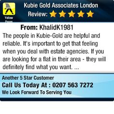 The people in Kubie-Gold are helpful and reliable. It's important to get that feeling when...
