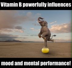 #Mood and #mental #performance are powerfully influenced by B #vitamins. A mild deficiency is widespread in North America. #health #wellness #fitness #mentalnote #foodforthought #brainfood #brain